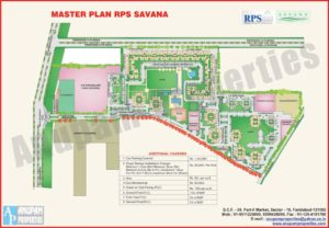 Rps Savana layout Map