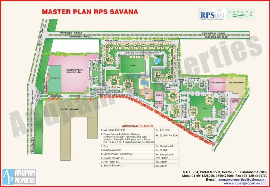 RPS Savana Layout