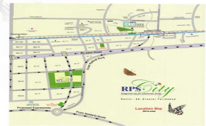 RPS Savana Location Map
