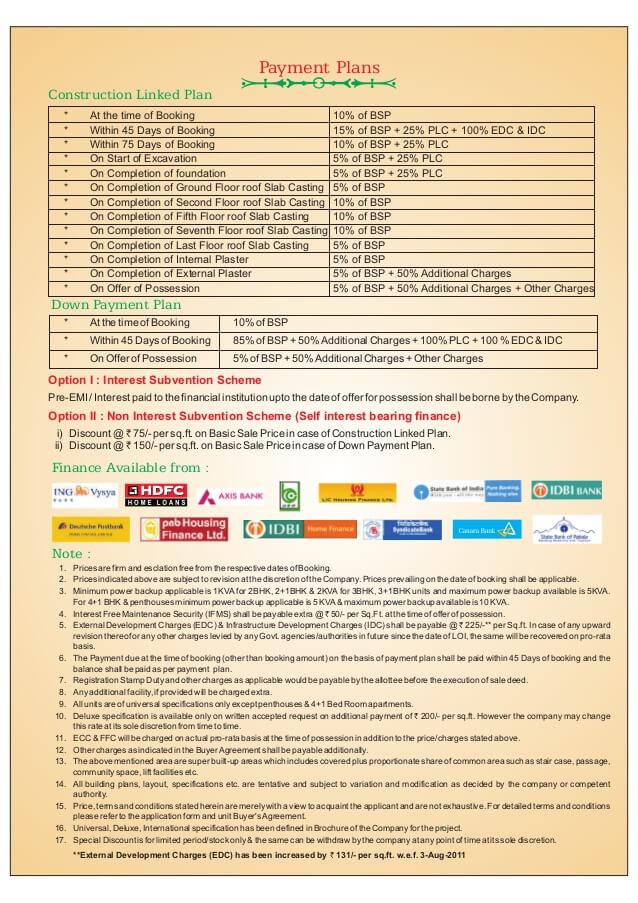 RPS Savana Price List and Payment Plans